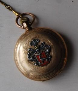 zegarek z herbem