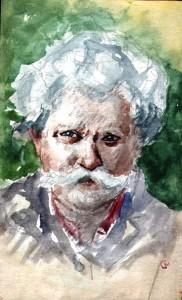 Wacław Chodkowski - autoportret