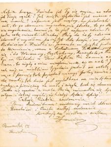 list janki z ruszczykowskich karasiewicz 1b