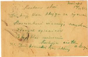 list marii z ruszczykowskich bellon 6b
