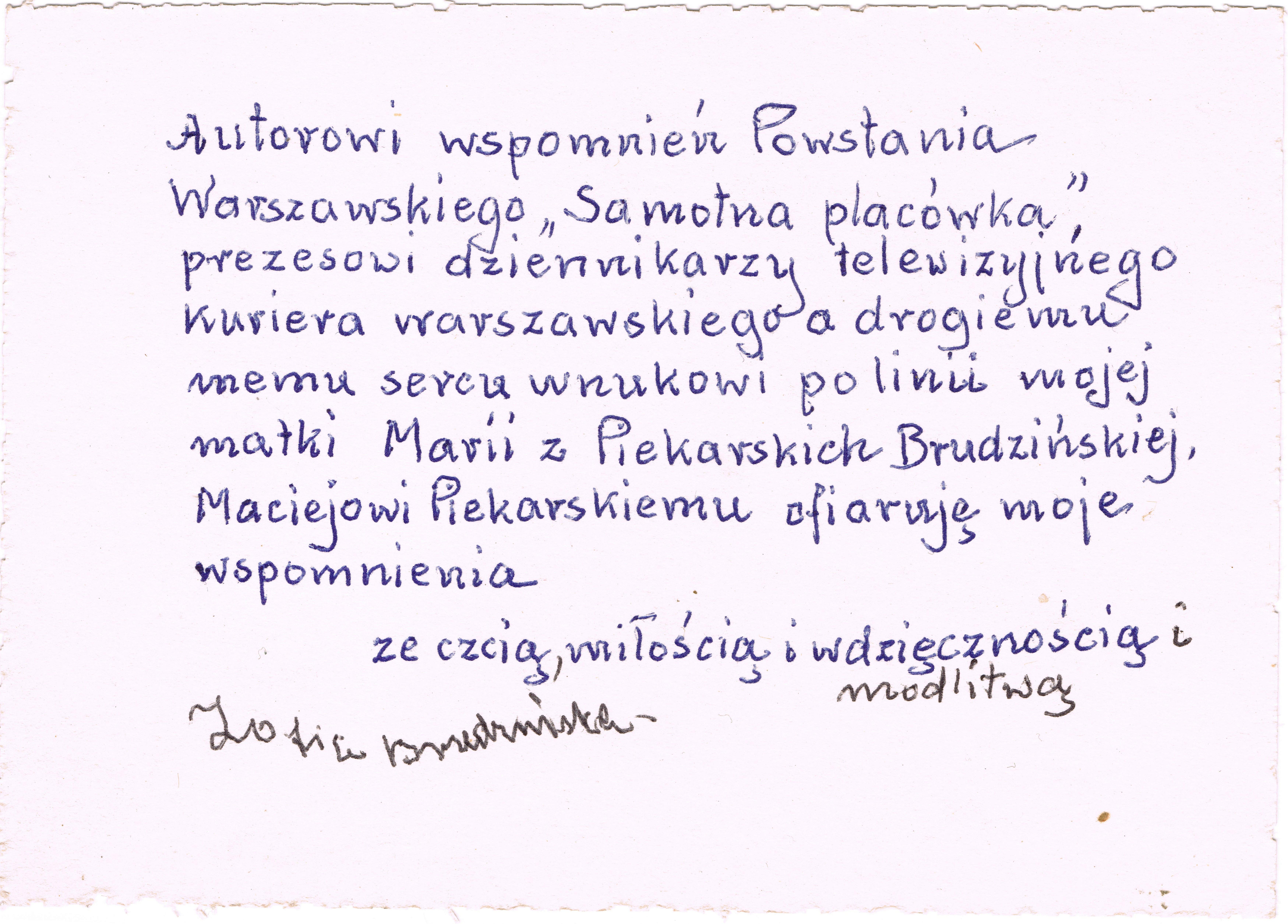 Styczeń 2014 Piekarscy Ich Przodkowie Krewni I