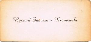 wizytowka rysio krosnowski