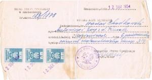 akt urodzenia wacława chodkowskiego
