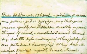 notatka o meteorycie