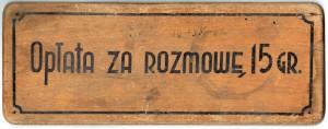 tabliczka telefoniczna