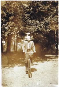antek foto na rowerze