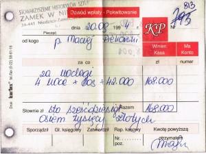 70-lecie rachunek niedzica
