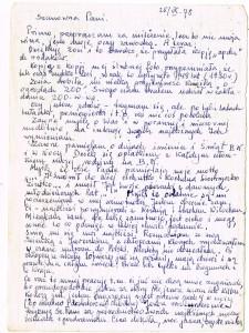 list stefabna do polski rok 1978