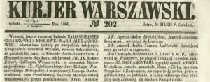 kurjer 1860