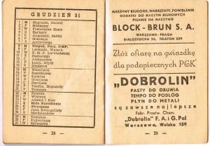 kalendarzyk dziadka bronka14
