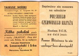 kalendarzyk dziadka bronka1a